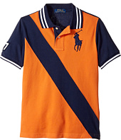 Polo Ralph Lauren Kids - Banner Cotton Mesh Polo (Big Kids)
