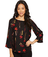 Vince Camuto Specialty Size - Petite Elbow Sleeve Elegant Blouse