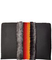 NO KA'OI - L Fur Pad Pouch 3 4,5 X24 with Embroidery