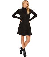 BB Dakota - Lynne Faux Suede Fit & Flare Dress