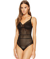 ELSE - Pointelle Soft Cup Full Coverage Bodysuit
