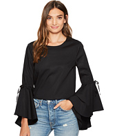 1.STATE - Long Sleeve Cascade Circle Sleeve Top