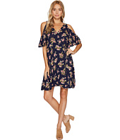Angie - Cold Shoulder Wrap Dress