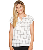 Ivanka Trump - Woven Window Pane Blouse