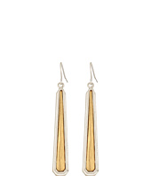 The Sak - Inlay Paddle Drop Earrings