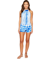 Maaji - Giggle Blue Romper Cover-Up