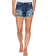 Blank NYC - Denim Distress Wedge Short in Fit Of Rage