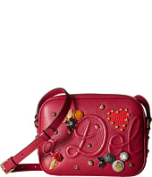 Dolce & Gabbana - Leather Dolce Soft Glamour Bag with Embellishment