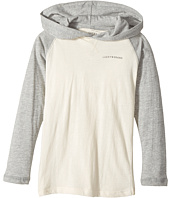 Lucky Brand Kids - Long Sleeve Raglan Hoodie Tee (Little Kids/Big Kids)