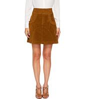 See by Chloe - Velvet A Line Skirt