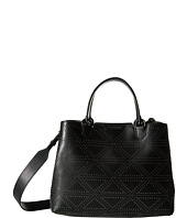Emporio Armani - Shopping Vacchetta+Borchie - Medium Shopping