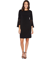 Calvin Klein - Ruffle Flare Sleeve Dress