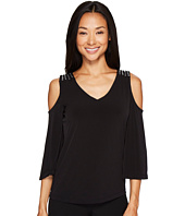 Calvin Klein - Cold Shoulder Top with Studs
