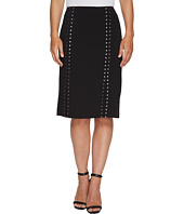 Calvin Klein - Pencil Skirt with Studs