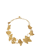 Tory Burch - Ginkgo Leaf Short Necklace