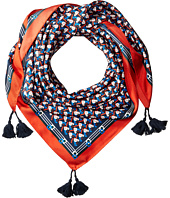 Tory Burch - Stallion Silk Square Scarf