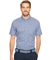 Vineyard Vines - Short Sleeve Floral Sketch Slim Murray