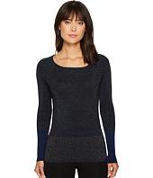 Ellen Tracy - Color Block Ribbed Sweater