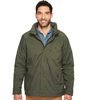 IZOD - Water Resistant Fleece-Lined Jacket with Hidden Hood