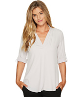 Calvin Klein - Roll Sleeve with Inverted Pleat
