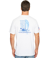 Vineyard Vines - Short Sleeve Boating Scene Pocket Tee