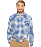 Vineyard Vines - Blue Heron Gingham Slim Crosby Shirt