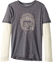 Lucky Brand Kids - Long Sleeve Graphic Doubler (Big Kids)