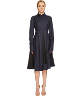 Jil Sander Navy - Shirtdress with Pleated Skirt