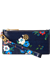 Tory Burch - Parker Printed Zip Card Case