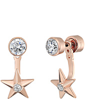 Michael Kors - Brilliance Star Front and Back Drop Earrings