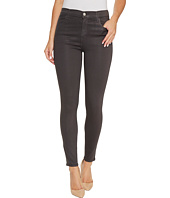 J Brand - Alana High-Rise Crop Skinny in Light Coated Chrome