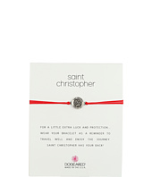 Dogeared - St. Christopher On Red Cord Bracelet