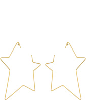 Steve Madden - Open Star Post Earrings