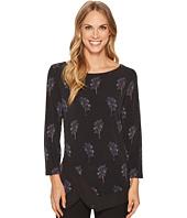 Ivanka Trump - Matte Jersey Georgette Trim Shirt