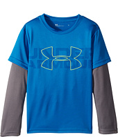 Under Armour Kids - Wordmark Slider (Little Kids/Big Kids)