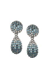 Nina - Medium Teadrop Pave Swarovski Stones Earrings