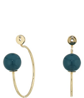 Fossil - Glass Hoop Earrings