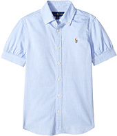 Polo Ralph Lauren Kids - Solid Oxford Shirt (Big Kids)