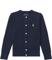 Polo Ralph Lauren Kids - Cable Knit Cotton Cardigan (Toddler)