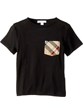 Burberry Kids - Short Sleeve Tee w/ Check Pocket (Little Kids/Big Kids)