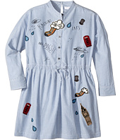 Burberry Kids - Detailed Shirtdress (Little Kids/Big Kids)