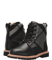 Burberry Kids - Check Lace-Up Weatherboots with Shearlin (Toddler/Little Kid)