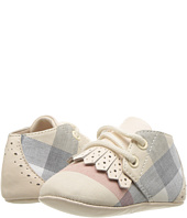 Burberry Kids - NB Lace-Up Shoe (Infant/Toddler)