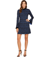 Donna Morgan - Arielle Sheath Dress w/ Velvet Neckline and Cuff