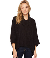 ROMEO & JULIET COUTURE - Drape Neck Knit Sweater Top