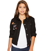 ROMEO & JULIET COUTURE - Denim Jacket with Pin Detail