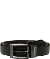 Steve Madden - 35mm Burnished Reversible Dress Belt