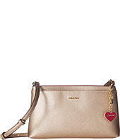 Calvin Klein - Novelty Saffiano Top Zip Crossbody