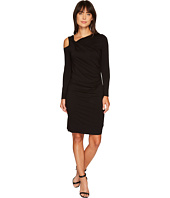Vince Camuto - Long Sleeve Cold Shoulder Dress with Ruching