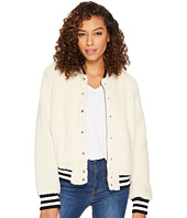 Levi's® - Sherpa Bomber with Striped Rib Knit
